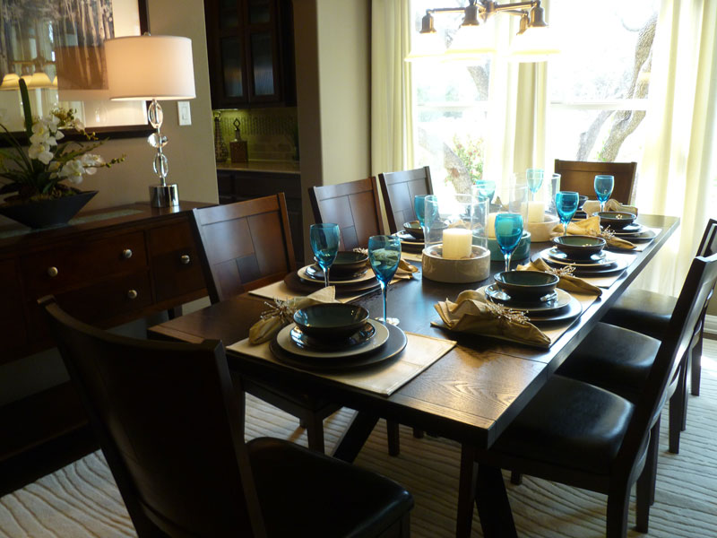 Model Home Dining Rooms Enchanting Model Home Dining Room Furniture  Home Box Ideas Design Ideas